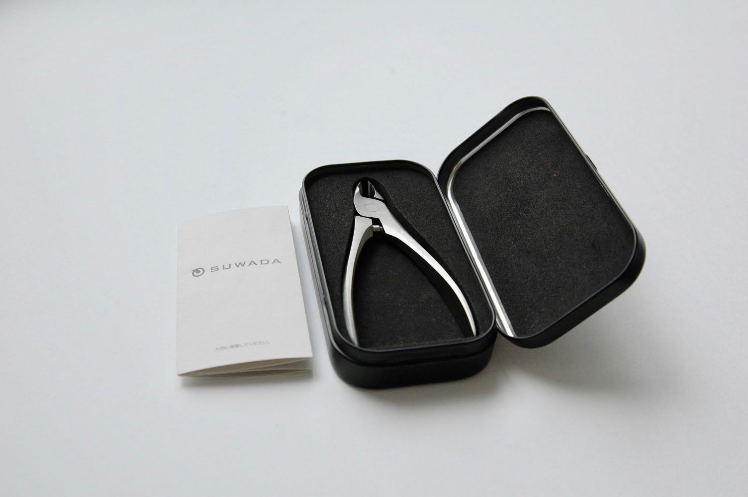 SUWADAの爪切りハードケース