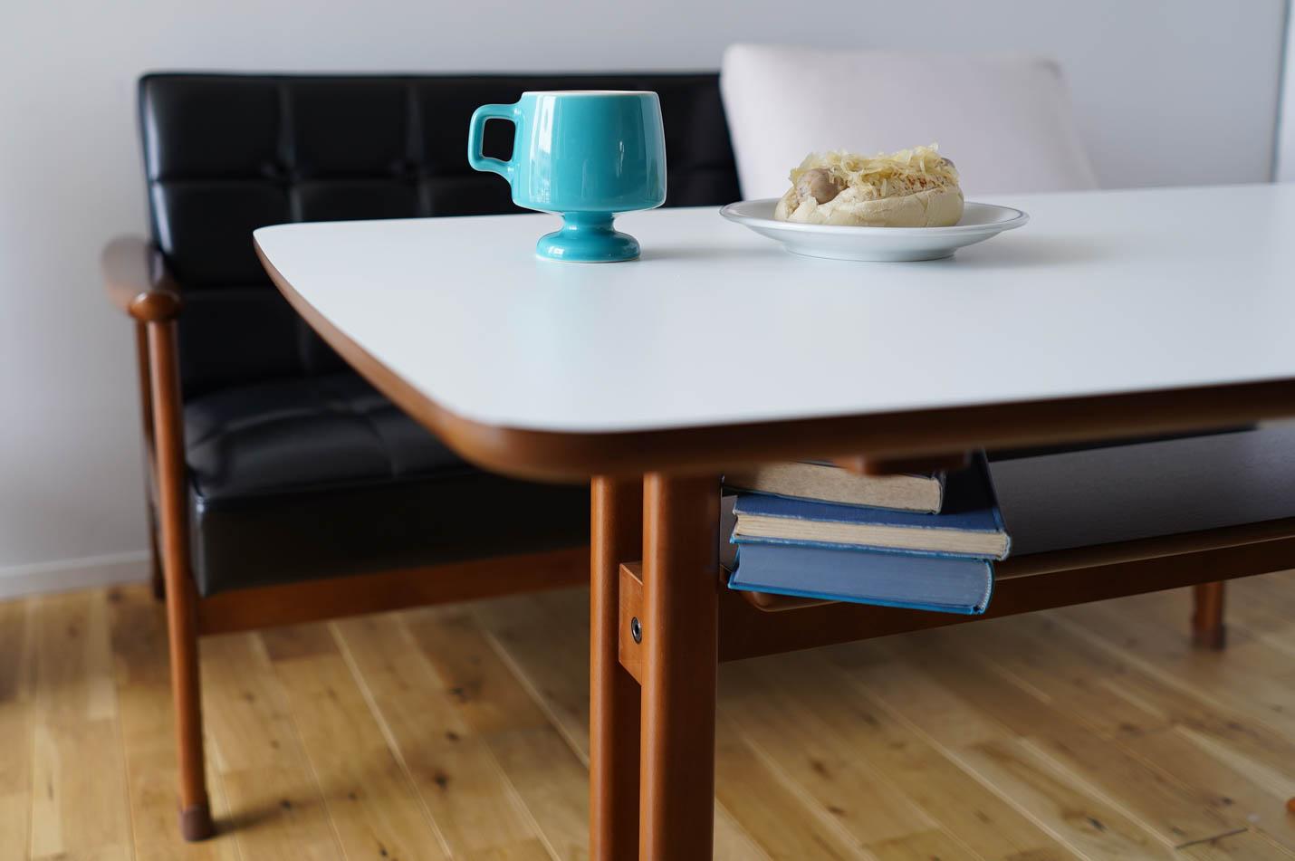 カリモク60 カフェテーブルの棚板