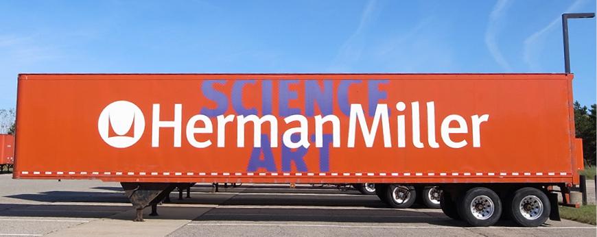 ハーマンミラーのトラック