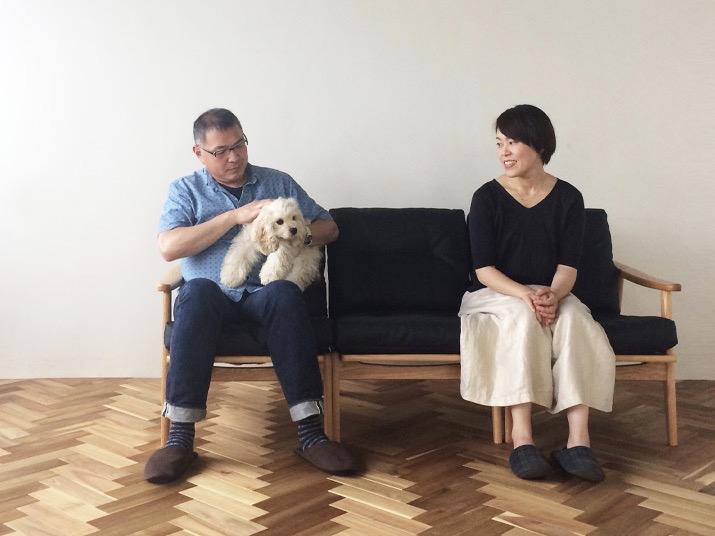 vanilla代表の田中夫妻