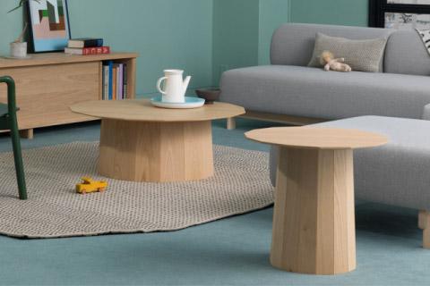 カリモク ニュースタンダード(KNS) カラーウッド(Colour Wood)(Castor)