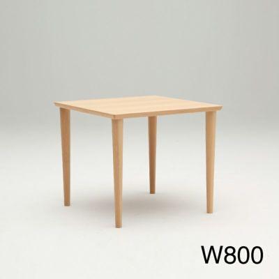 カリモク60+ ダイニングテーブル800 ピュアビーチ[D36290AE]