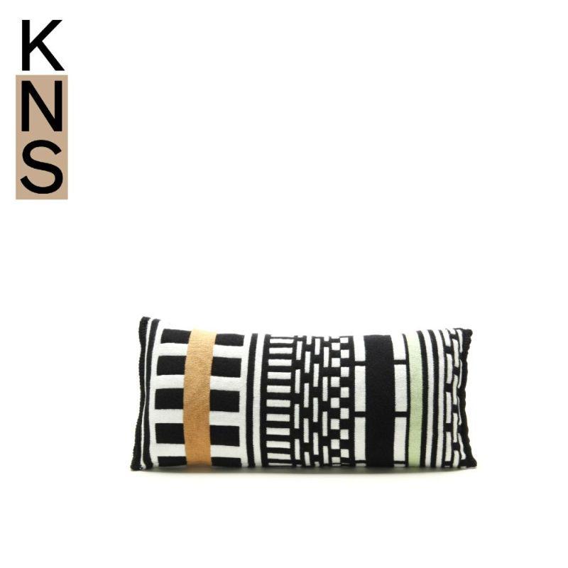 カリモクニュースタンダード ストライプスクッション (Karimoku New Standard Stripes Cushion) スモール[K3400AKA]